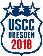 Aufkleber - USCC Dresden 2018